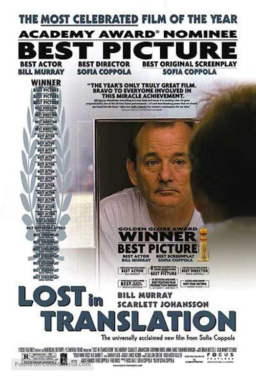 Lost in Translation - Movie Poster