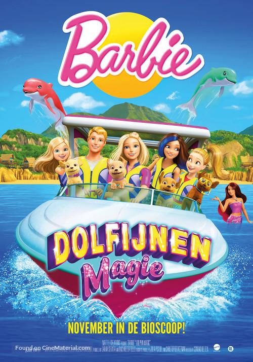 barbie dolphin magic belgian movie poster. Black Bedroom Furniture Sets. Home Design Ideas