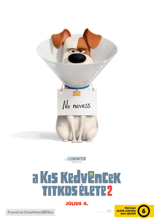 The Secret Life of Pets 2 - Hungarian Movie Poster