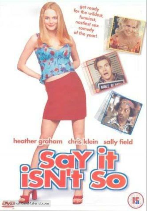 Say It Isn't So - British DVD movie cover