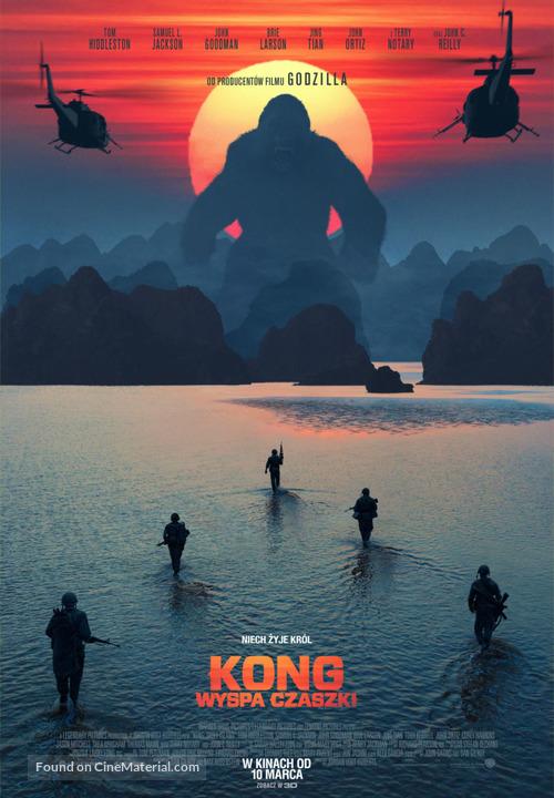 Kong: Skull Island - Polish Movie Poster