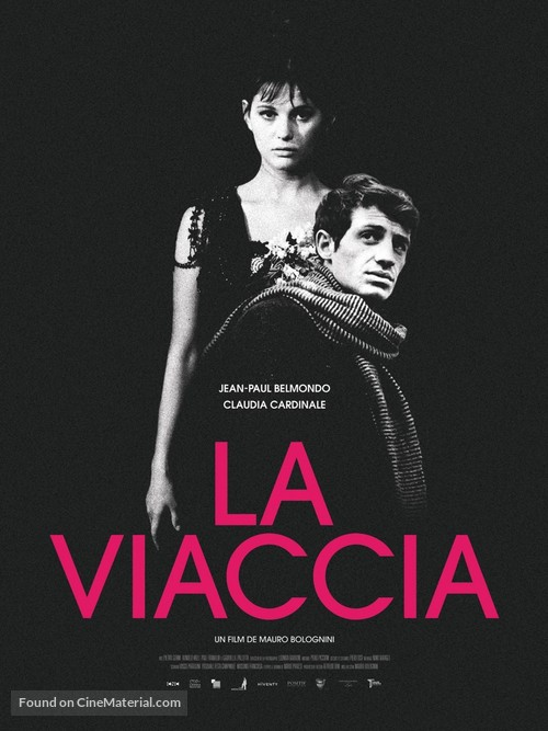 La viaccia - French Re-release movie poster