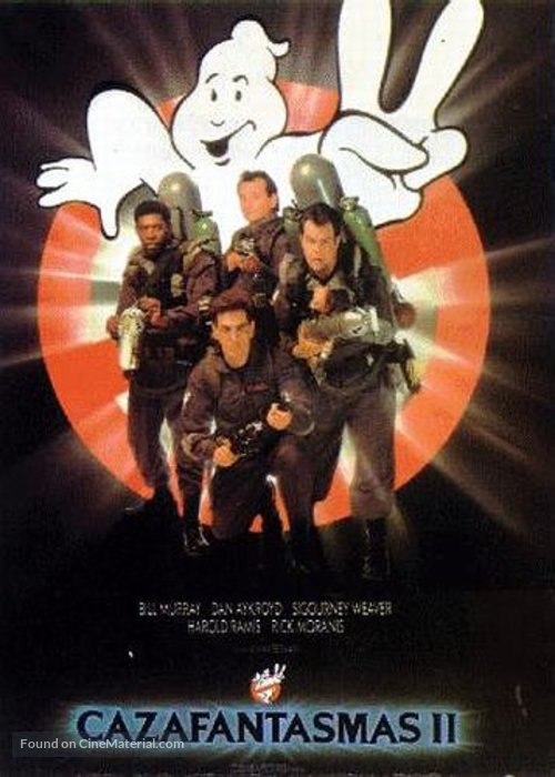 Ghostbusters II - Spanish Movie Poster