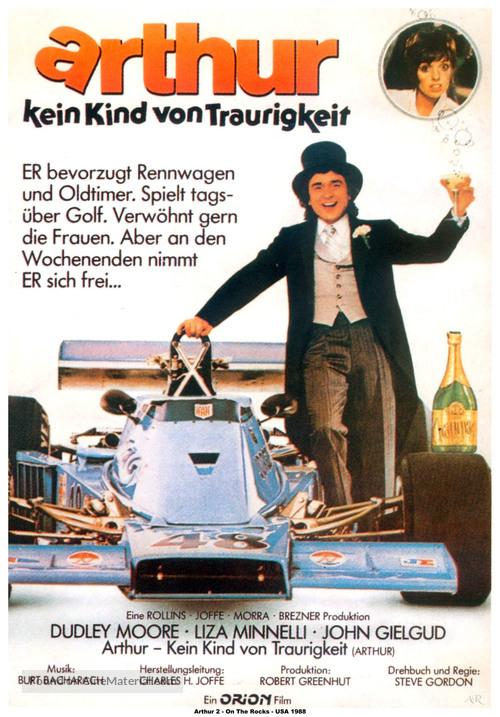 Arthur - German Movie Poster