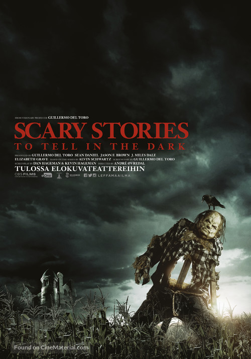 Scary Stories to Tell in the Dark - Finnish Movie Poster