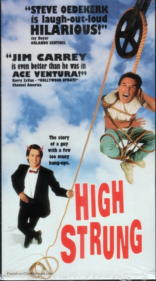 High Strung - VHS movie cover