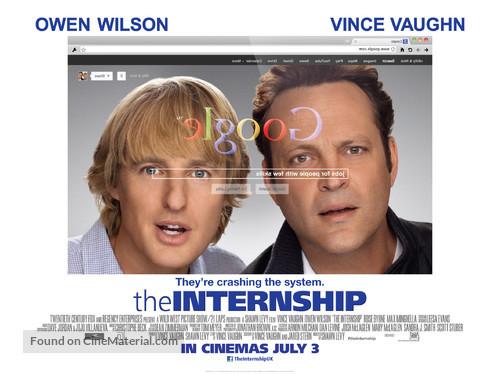 The Internship - British Movie Poster