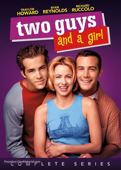 """""""Two Guys, a Girl and a Pizza Place"""" - DVD movie cover"""