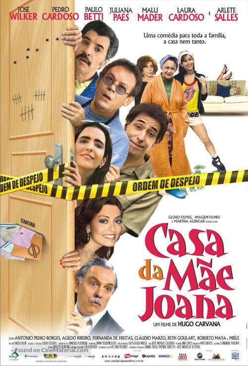 A Casa da Mãe Joana - Brazilian Movie Poster