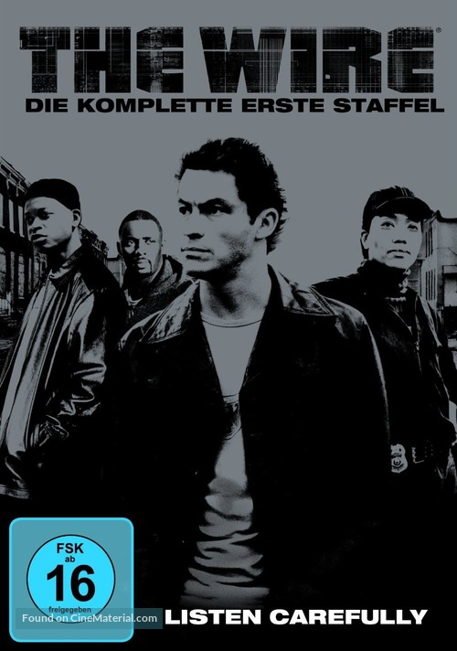 """""""The Wire"""" - German DVD movie cover"""