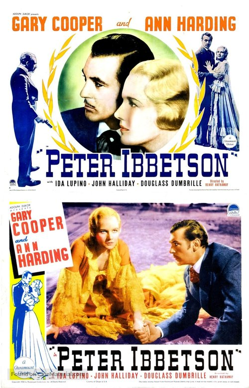 Peter Ibbetson - Movie Poster
