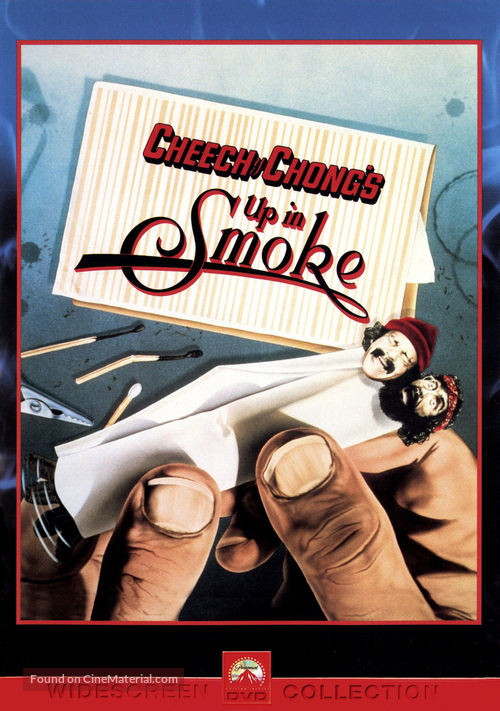 Up in Smoke - DVD movie cover