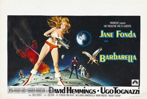 Barbarella - Belgian Movie Poster