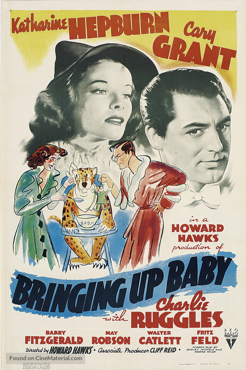 Bringing Up Baby - Theatrical movie poster