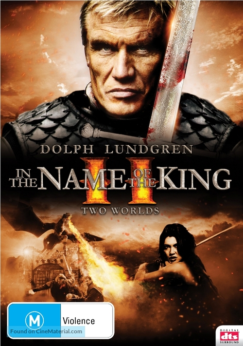 In the Name of the King: Two Worlds - Australian DVD movie cover