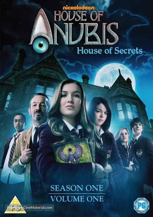 """House of Anubis"" - British DVD movie cover"
