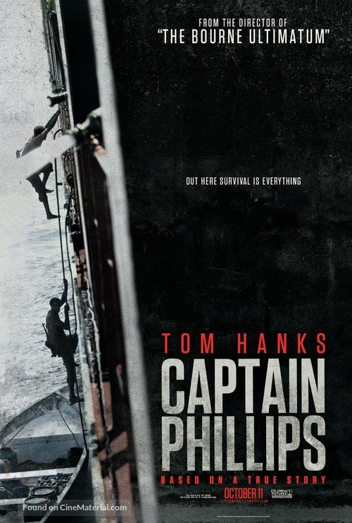 Captain Phillips - Movie Poster