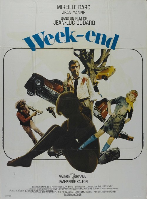 Week End - French Movie Poster