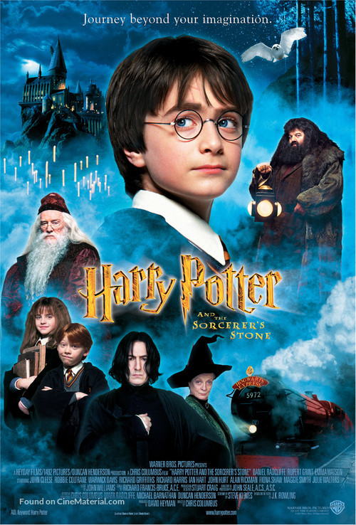 Harry Potter and the Sorcerer's Stone - Movie Poster