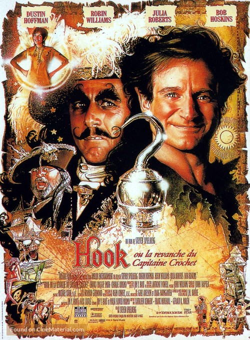 Hook - French Movie Poster