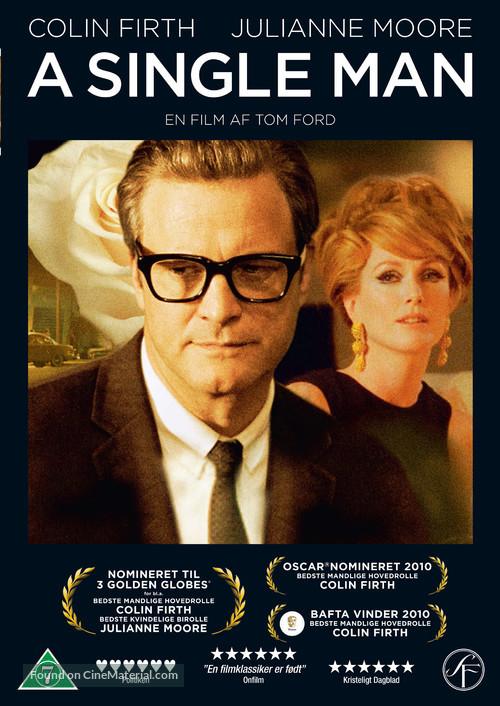 A Single Man - Danish Movie Cover