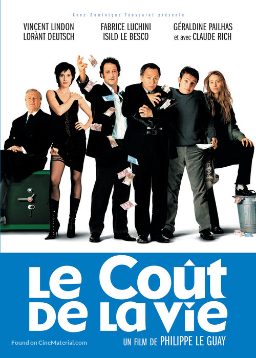 Le coût de la vie - Canadian Movie Poster