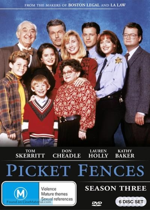 """Picket Fences"" - Australian DVD movie cover"
