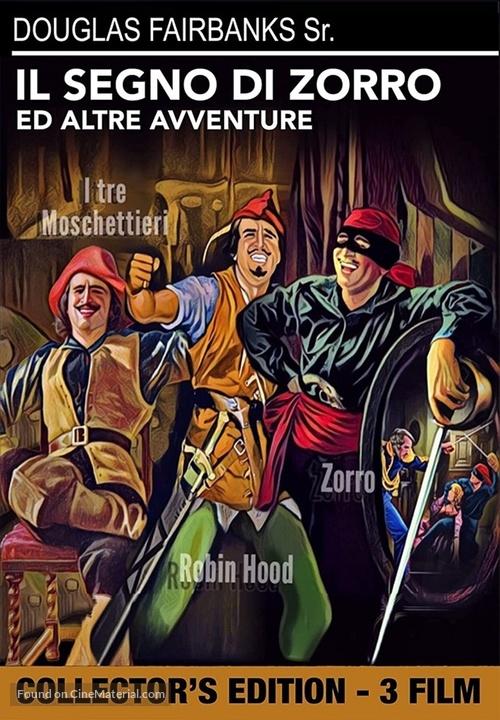 The Mark of Zorro - Italian DVD movie cover