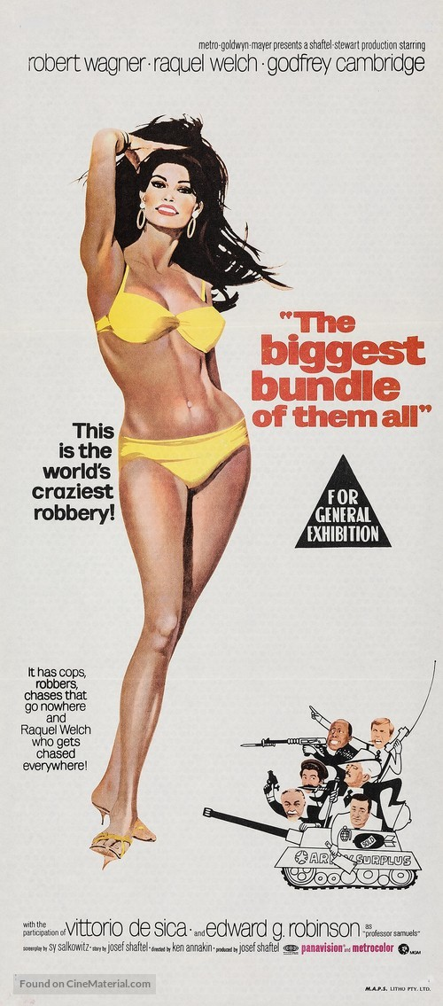 The Biggest Bundle of Them All - Australian Movie Poster