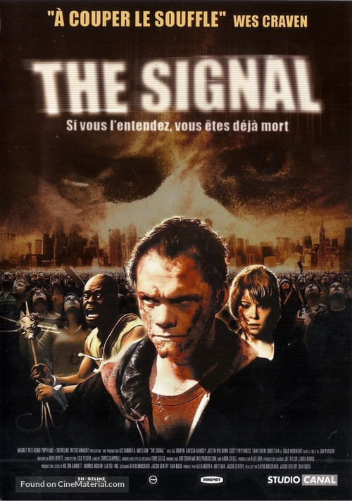 The Signal - French DVD movie cover
