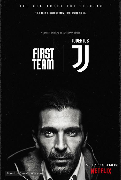 """First Team: Juventus"" - Movie Poster"