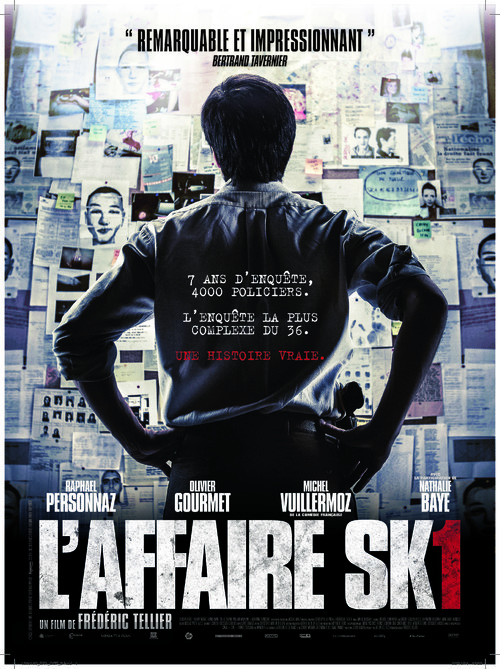 L'affaire SK1 - French Movie Poster