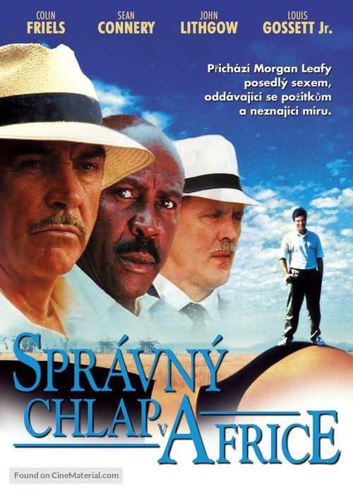 A Good Man in Africa - Czech DVD movie cover