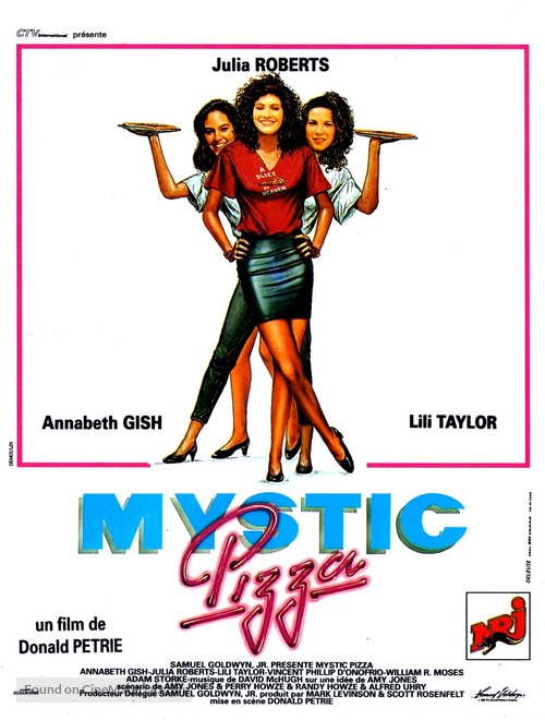 Mystic Pizza - French Movie Poster