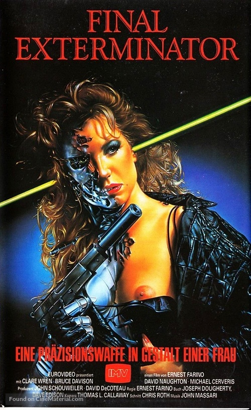 Steel and Lace - German VHS movie cover