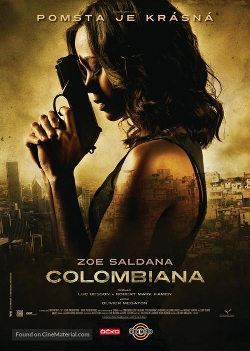 Colombiana - Czech Movie Poster