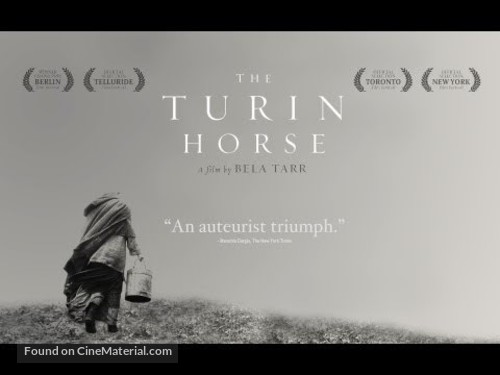 A torinói ló - British Movie Poster