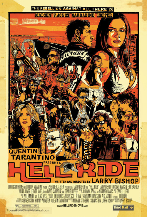 Hell Ride - Movie Poster