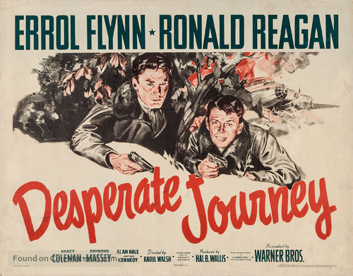 Desperate Journey - Movie Poster