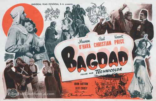 Bagdad - Spanish Movie Poster