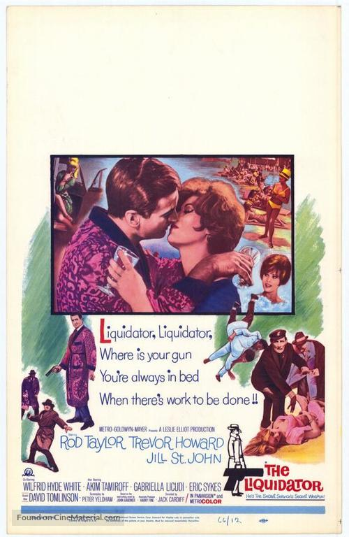 The Liquidator - Movie Poster