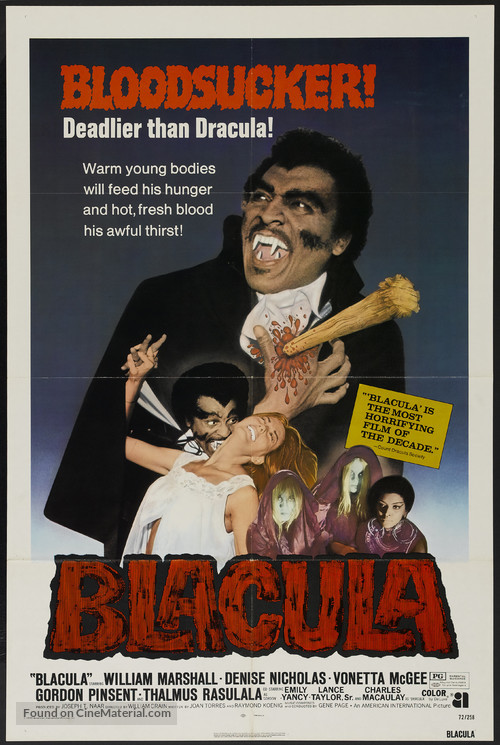 Blacula - Movie Poster