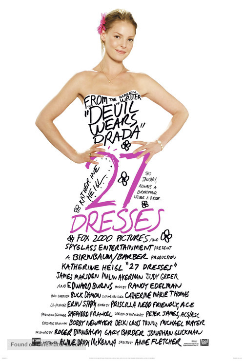 27 Dresses - Movie Poster