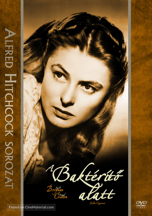 Under Capricorn - Hungarian DVD movie cover