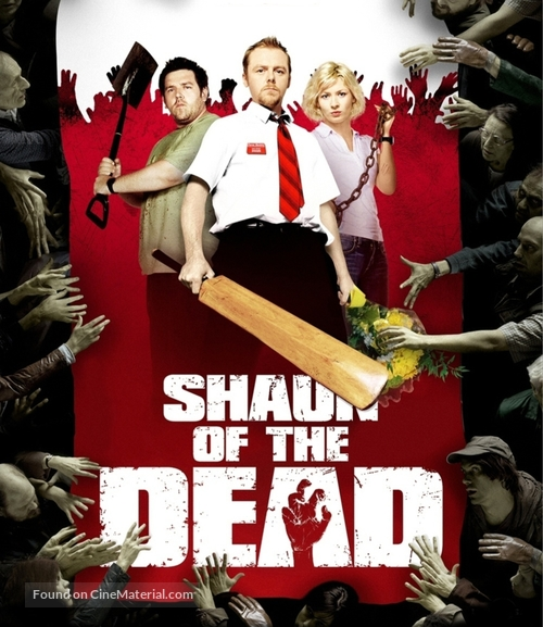 Shaun of the Dead - German Blu-Ray movie cover