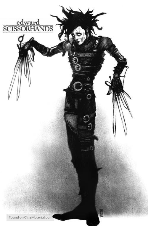 Edward Scissorhands - Movie Poster