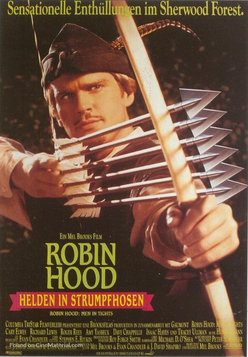 Robin Hood: Men in Tights - German Movie Poster