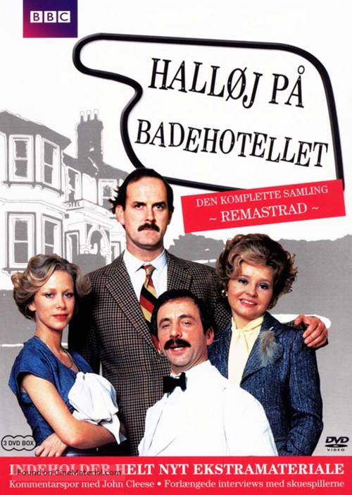 """Fawlty Towers"" - Danish DVD movie cover"
