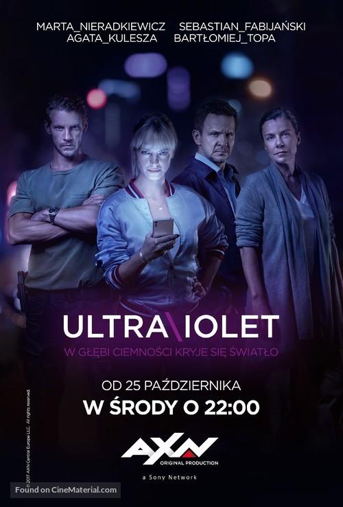 quotultravioletquot polish movie poster