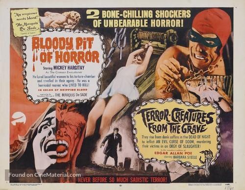 Il boia scarlatto - Combo movie poster